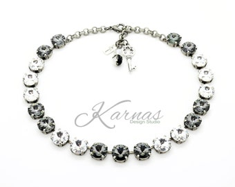 CLASSY AFFAIR 12MM Choker Made With Swarovski Crystal *Pick Your Finish *Karnas Design Studio™ *Free Shipping*