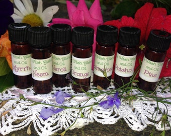 50 Pure Essential Oil Kit White Witch Alchemy and Oil Jasmine Ylang Ylang Neroil and More