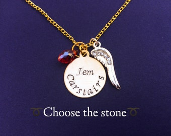 Carstairs Necklace - Choose your favorite Carstairs and colored stone