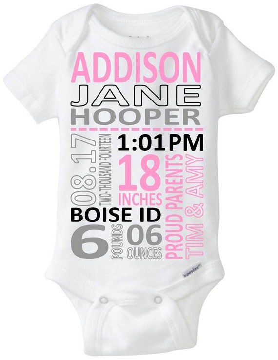 Newborn Baby Gift Ideas Australia : Newborn baby girl gift idea birth announcment