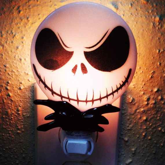 Cool Nightmare Before Christmas Gifts: Jack Skellington Night Light: Nightmare Before Christmas