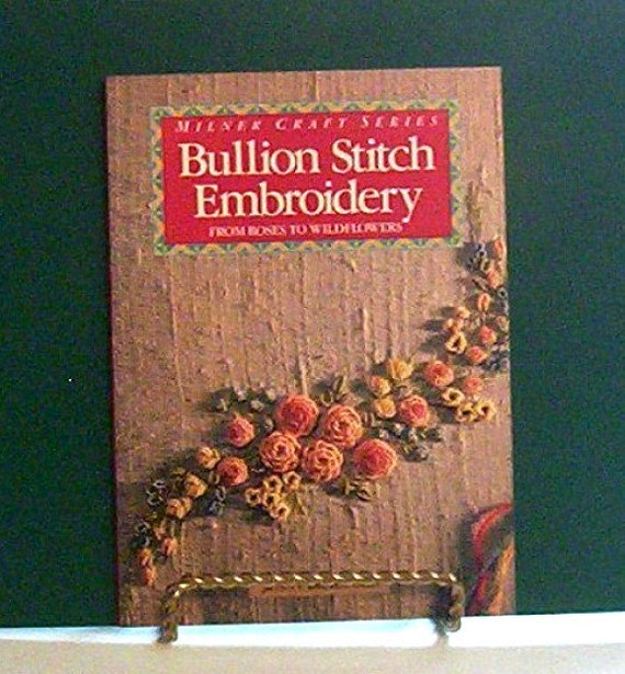 Items similar to Bullion Stitch Embroidery: From Roses to ...
