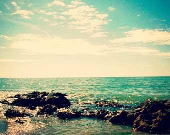 Beach photography. Beach print. Ocean print. Nautical decor. Nautical bathroom. Ocean photography. Florida print. Fine art photo print.