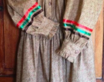 Cherokee Tear Dress - 2 Piece Traditional or Ribbon Shirt & Matching Skirt