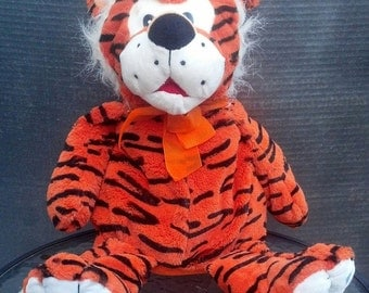 Collectible Kelly Toy Plush Tiger / Collectible Plush Toy / Its Great / Photographer Prop / Cuddly Gift Idea / Baby Shower Gift/F495