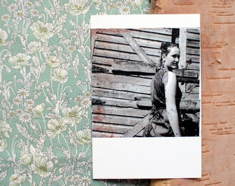 photography postcard - feathering