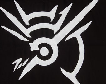 Dishonored Symbol, The Outsiders Mark, Banner 29 x 41 Inches