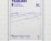 Tony Yeboah - Leeds United vs Liverpool Giclee Print