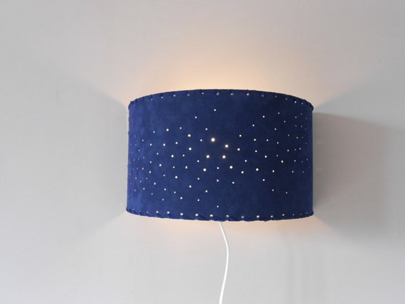 Half Circle Wall Lights : Wall lighting sconce wall lights half-circle blue by EclatFou