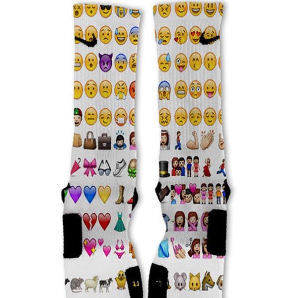 emoji socks - photo #29