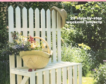 Simple Handmade Garden Furniture: 23 Step-By-Step Weekend Projects by Philip and Kate Haxell, Laurel Glen, 2002