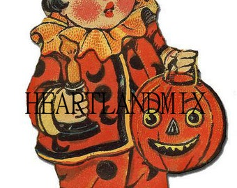 A Halloween Vintage Digital image