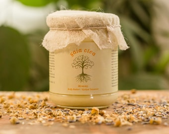 Natural Body Butter for Pregnant or Breastfeeding Women, Soothes and Prevents Stretch Marks and Dry Skin