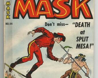Vintage comic RED MASK #44 ME (Magazine Enterprises), Oct-Nov 1954 golden age comics