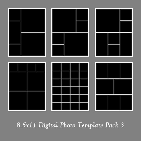 digital photo template pack collage by loveurstyledesigns. Black Bedroom Furniture Sets. Home Design Ideas