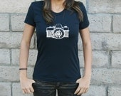 Camera Shirt - Photography- Women's - American Apparel