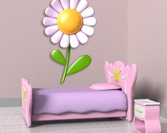 Wall decals flower A055 - Stickers fleur A055