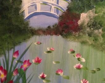 Serenity of Monet's Garden
