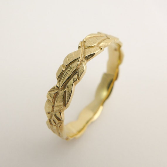 14 karat solid gold wedding ring gold wedding ring