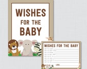 Safari Baby Shower Wishes...