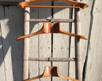 50s Wooden French Hangers