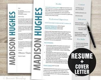 Modern resume example