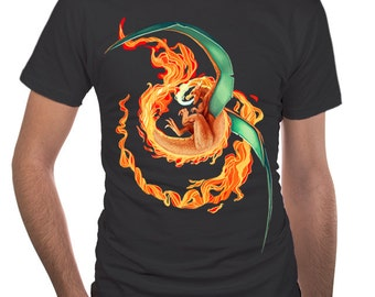 Charizard Pokemon T-Shirt - Realistic Charizard - Charizard Shirt - Charizard T-Shirt - Pokemon Shirt - Pokemon T-Shirt - Pokemon Gift