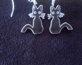 Jiji Kiki's Delivery Service Hayao Miyazaki Handmade Earrings