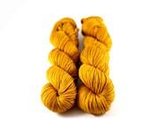 Honey Wheat: hand-dyed 100% Superwash Merino DK Yarn