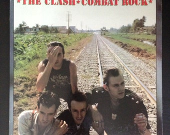 "The Clash - Combat Rock 12"" LP Vinyl Record"