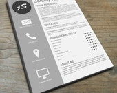 Creative Resume Template | Instant Download | Showcase your Creativity!