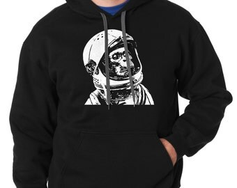 Chimp Astronaut Hoodie Creative Stylish Hooded Sweatshirt Sweater