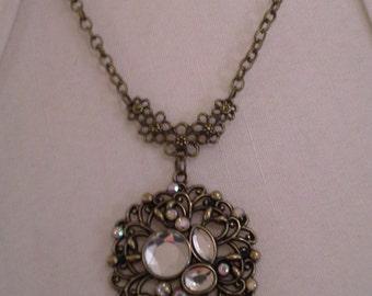 Vintage Designed Round  Necklace = N 117
