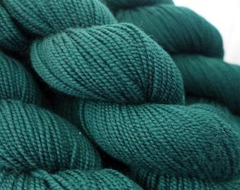 Shibui Knits Sock - Cypress - Forest Green Blue Fingering Merino Sock Yarn