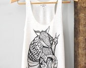 ON SALE - Peace Out Armadillo - 5% Donated to Wildlife Conservation Network - Armadillo tank - by Simka Sol