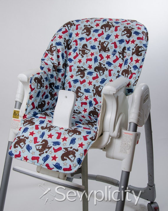 baby trend 4 position high chair cover cowboy. Black Bedroom Furniture Sets. Home Design Ideas