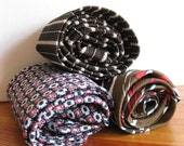Vintage men's necktie collection/ 1950's men's tie/ 1960's men's tie