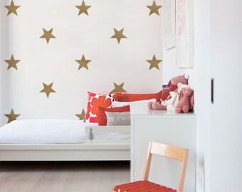 Large Stars - Kids vinyl Wall Sticker