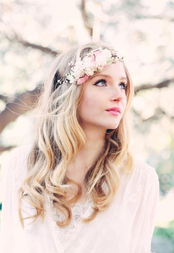Super Corona di fiori da sposa matrimonio accessori per capelli KD19