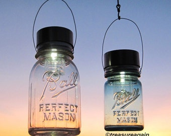 country cabin lantern decor hanging mason jar solar lights outdoor lake cabin country home upcycled ball jar solar lights with hangers ball mason jar solar lights