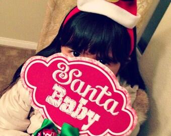 Santa Baby  Printable Sign