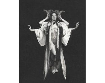 Limited Edition Fine Art Print: Pillars - Stephanie
