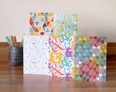 Card Pack 5 Mixed Pattern Pack Blank Notecards Multipack