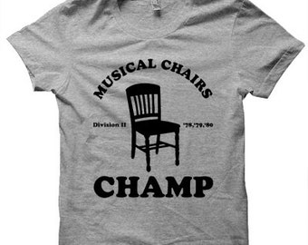 Musical Chairs Champ T-shirt by NIFTshirts