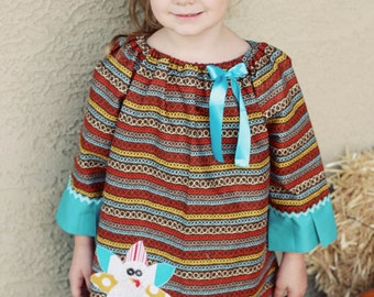 Peasant Dress Pattern Etsy