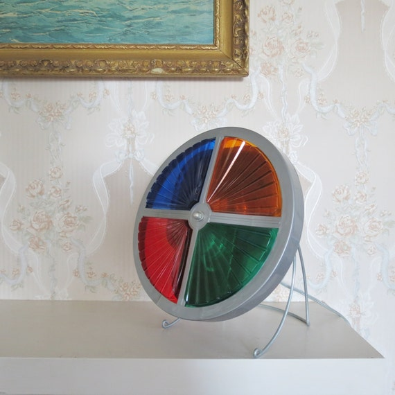 Silver Christmas Tree Color Wheel: Color Wheel Light For Aluminum Christmas Tree Mid By Thisattic