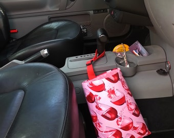 Car Trash Bag - Red Wine