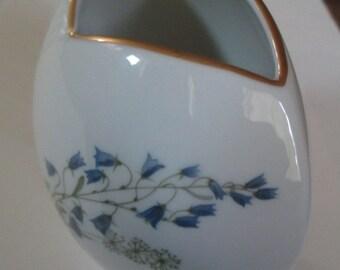 Porcelain Floral Vase - Made in Sweden