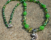 Custom Order Beaded Necklaces for Pisces Twins