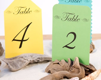 10 Driftwood Table Number Holders, Place Card Holder, Wedding Favors, Nautical Party, Photo Holder, Wedding Table Decor, Rustic, Beach Decor